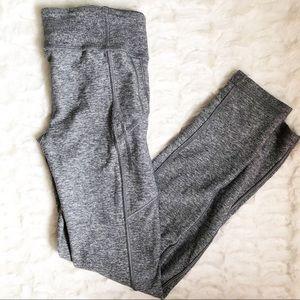 Lululemon Ivivva Girls Grey Athletic Leggings